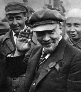 Vladimir Lenin in Moscow